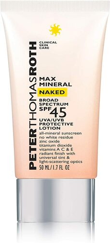 Peter Thomas Roth Max Mineral Naked Broad Spectrum SPF 45 Lotion